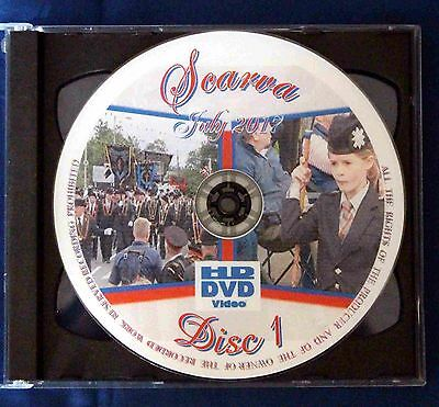 APS Marching Band DVDS Scarva Double DVD Set 2017