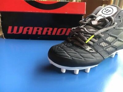 NEW WARRIOR BOYS Lacrosse shoes cleats Size 2.5 2 1/2