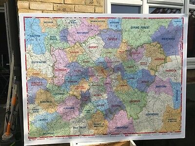 Large map of Greater London