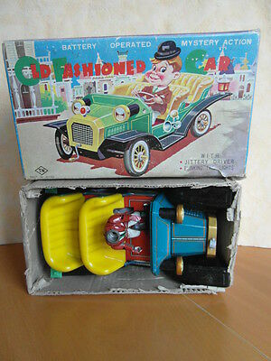 Old Fashioned Battery Operated Mystery Action T.n Spielzeugauto