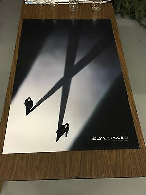 X-FILES Original Double Sided Movie Poster 27X40