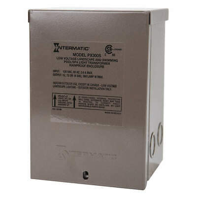 INTERMATIC Transformer,1 Phase,300VA,12V Out, PX300S