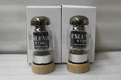 KT88 Teslovak New Pair Fully Match GM and Current 24 Hr Burn-In KT-88 KT 88 Tube