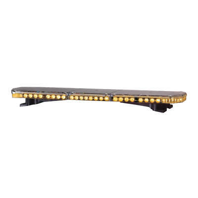 CODE 3 Low Pro Lightbar,LED,Amber,Perm,47 In, 21TRPL4712, Amber