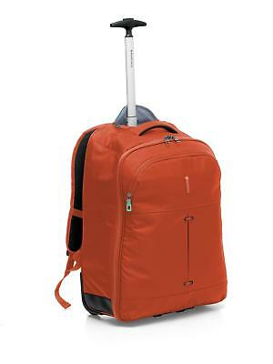 Zaino Trolley RONCATO IRONIK Orange Porta Pc e Tablet - Bagaglio Cabina Misure R