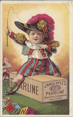 James Pyle's Pearline Washing Compound, The Great Invention For Saving Toil