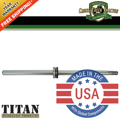 E9NN3A747AA NEW Ford Tractor Power Steering Cylinder Shaft 5640 6640 7740 7840,+