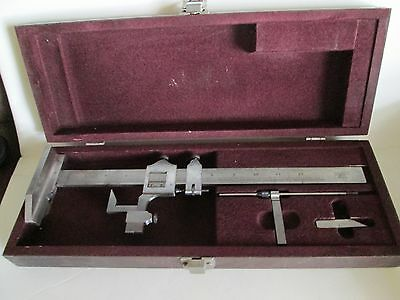 Starrett No. 454 Vernier Caliper Height Gage 12 Inch