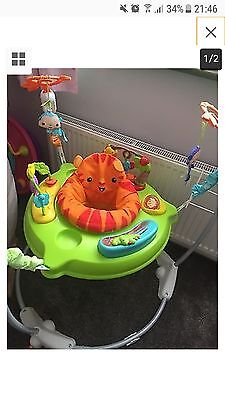 Fisher-Price Roaring Rainforest Jumperoo Used With Original Box x2
