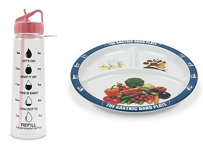 World Slimming Diet Gastric Band Weight Loss Plate Increment Bottle Hydrate Kit