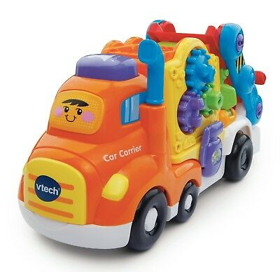 VTech Baby Toot-Toot Drivers Car Carrier Transporter Toy Multi Coloured