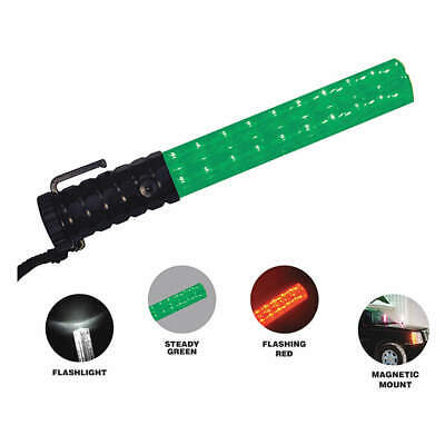 EMI LED Safety Light,11.5inH,Green/Red/White, 3030