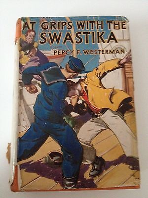 At Grips With The Swastika Percy F Westerman Blackie's Books 1942 WW2 Wartime