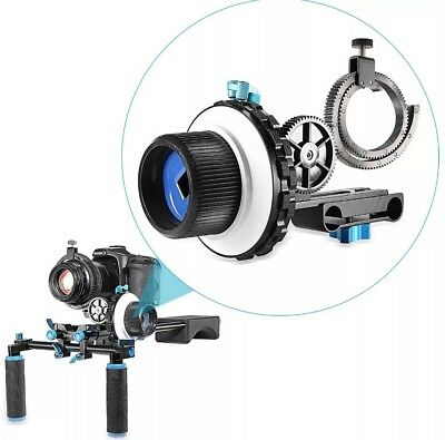 Neewer A-B Stop Follow Focus C2 for Nikon,Canon,Sony DSLR Camera Camcorder