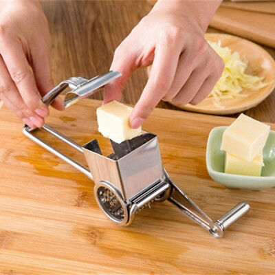 Slicer Hand Held Ginger Cutter Rotary Cheese Grater Cooking Baking Tools