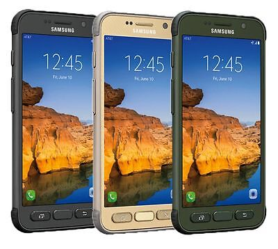 Samsung Galaxy S7 active SM-G891A  32GB  AT&T GSM UNLOCKED Smartphone
