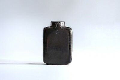 An Antique Inscribed Lacquered Chinese Snuff Bottle