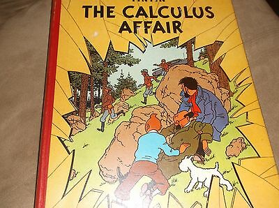 Herge,The Adventures of Tintin ,the calculus affair 1960 first UK  edition