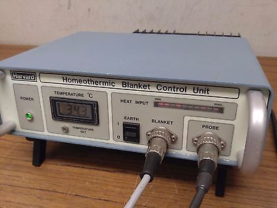Harvard Apparatus Homeothermic Blanket Control Unit with blanket & probe 50-7053