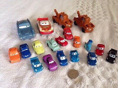 Disney Pixar Cars vehicles Mixed Lot -19 Vehicles