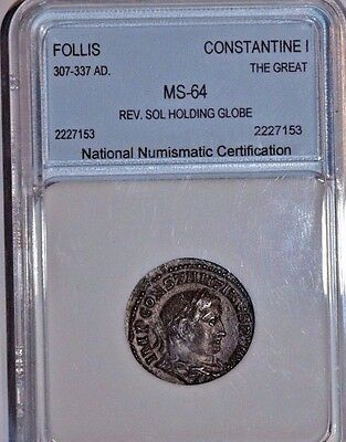Constantine I (The Great) Bronze Follis NNC - Uncirculated