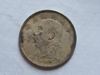 China 1913 Silver Coin of  Yuanshikai 1 Yn