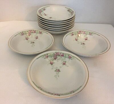 Scherzer (Z S & Co) Small Bowls Set Of 10 #ZSC9584 Discontinued Pattern
