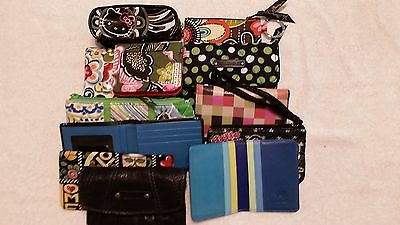 Slightly Used Women's Wallets and Straps for Purses