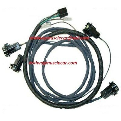 Awe Inspiring 63 1963 Chevy Chevrolet Impala Rear Body Light Wiring Harness Wiring Database Gramgelartorg