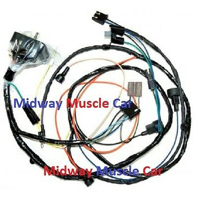 Engine Wiring Harness 63 64 65 66 Chevy Nova Ii 283 327 396 Hei