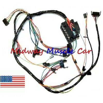 Dash wiring harness with fuse block 67 Chevy Camaro