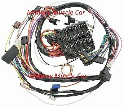 ignition systems, vintage car & truck parts, parts & accessories engine wiring harness replacement dash wiring harness 69 pontiac gto lemans tempest judge ram air 1969 w gauges
