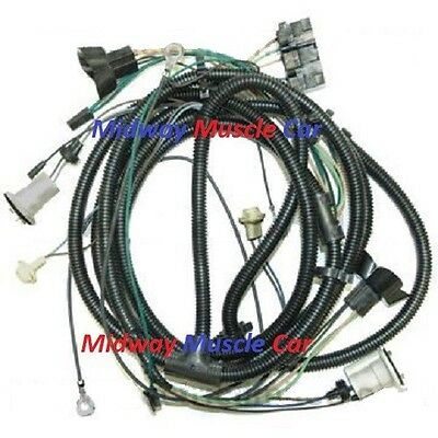 front end headlight wiring harness chevy pickup truck blazer suburban 80 81  82