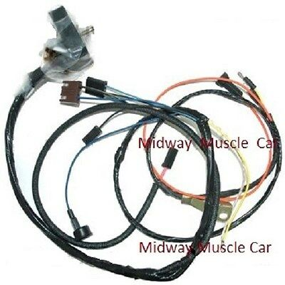 engine wiring harness 68 chevy camaro ss 302 327 350 w/ lights rs/ss