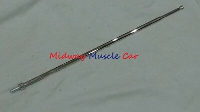NEW fender mount antenna mast with grooved tip 67 68 69 Pontiac GTO Lemans judge