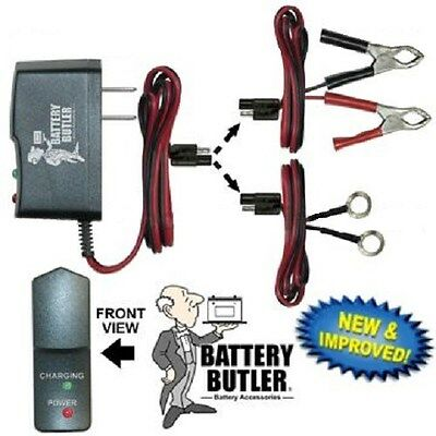 battery butler 6 volt tender storage trickle charger     Car Motorcycle Scooter