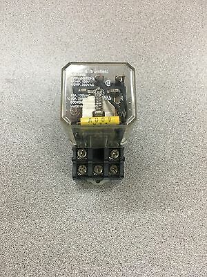 Used Potter & Brumfield Plug In Relay Ku-4699 With Base