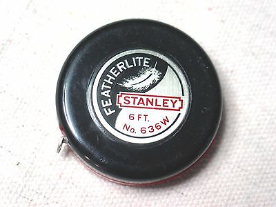 Stanley featherlite 636W advertising tape - Seegers Hardware
