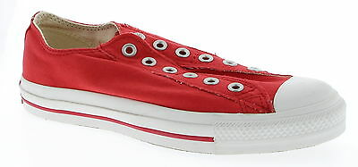CONVERSE ALL STAR Red Casual Shoes Size 6 Men's & 8 Women's