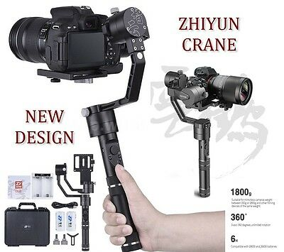 Zhiyun Crane 3-Axis Handheld Stabilizer Gimbal for Mirrorless DSLR Camera