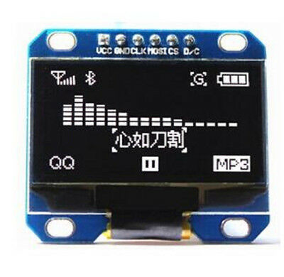 5 pcs White Color 1.3 inch 128x64 OLED Display OLED LCD Screen Module