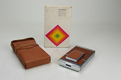 Vintage Polaroid SX-70 Land Camera Leather Carrying Case #114 FREE SHIPPING