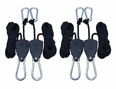 "2 Pairs 1/8"" Adjustable Heavy Duty Rope Hanger"