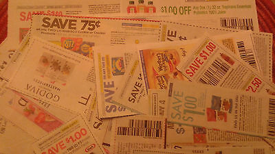 Lot of Assorted Manufacturer Grocery Household Coupons - Expire 08/05 and later