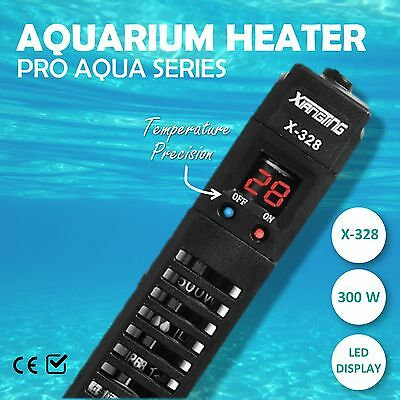 NEW 300W Heater Adjustable LED  Submersible Water Fish Tank Automatic Thermostat