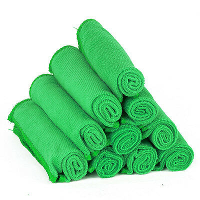 30x30cm  Microfiber Wash Clean Towels Car Cleaning Home Duster Soft Cloths