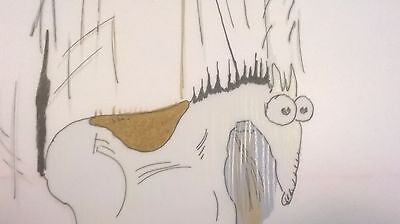 Better Off Dead - Title Sequence, Horse -  Drawing And Cel!! (C-41)