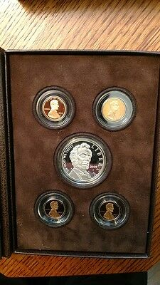 2009 U.s.mint Lincoln Coin & Chronicles Set + 2009 Lincoln Bicentenial Proof Set