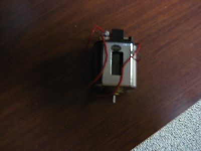 Used Vintage 1/24 Scale Cox Brand 36D Chrome Slot Car Sidewinder Motor (see pic)