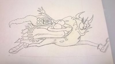 Better Off Dead - Title Sequence- Production Animation Drawing-Demon/princss
